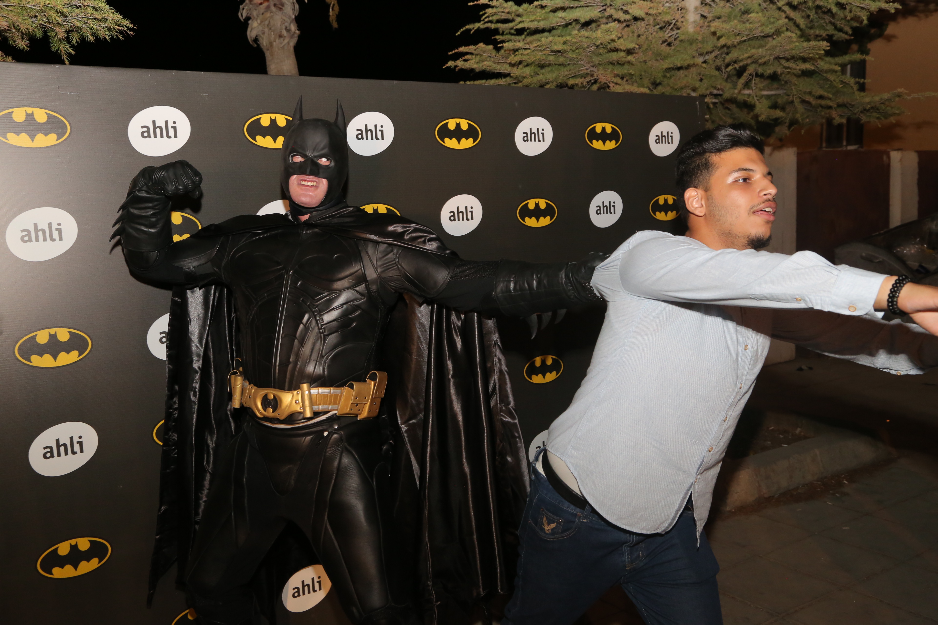 """البنك الأهلي الأردني يحتفل بيوم """"باتمان"""""""