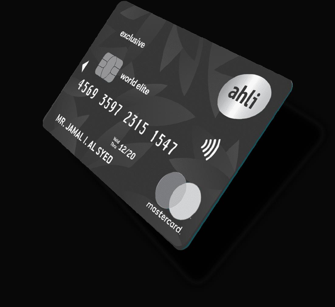 ahli credit card